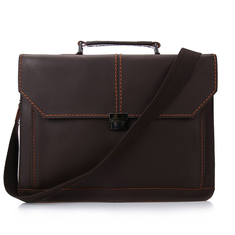 45b2e50b53 China factory high end vintage leather messenger briefcase laptop ...