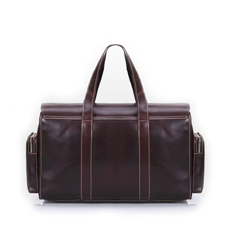China factory cheap price real leather tote weekender bags