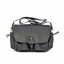 Vintage design good quality genuine leather shoulder messenger bag