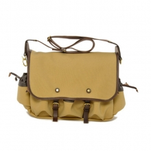 On sale good quality mens canvas cross body shoulder bag