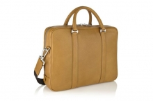 Classical design luxury calf leather tote shoulder briefcase bag for men