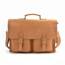 2016 Best selling mens import leather messenger laptop bag