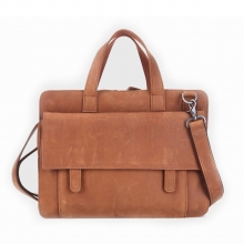 Good quality low price men vintage leather briefcase tote bag