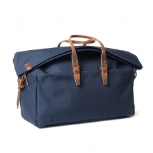 Low price good quality navy blue canvas travel bag for business