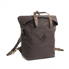 Best selling cheap price brown canvas laptop backpack for men