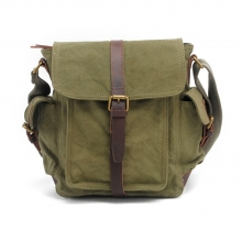 Hot selling good quality waxy canvas postmen bag for school