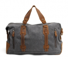 Cheap price durable canvas duffle bag with shoulder strap for business travelling