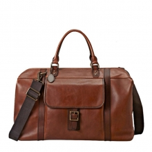 Famous design vintage durable real leather travel bag doctor bag