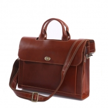Wholesale branded high end vintage real leather lawyer briefcase handbag