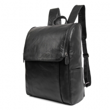 China manufacturer cheap price good quality genuine leather laptop backpack for school