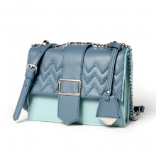 China factory wholesale price good quality cowhide ladies handbag real leather women purse