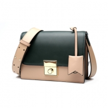 Hot sale low price good quality real leather daily use ladies handbag leather purse for women